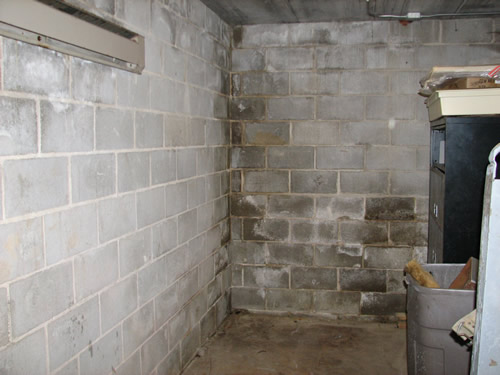 Foundation seepage mold